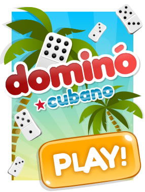 Cuban Dominoes: Place your pieces linking the numbers and beat everybody! Do you dare?