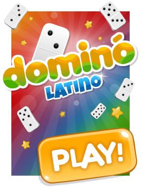Dominó Latino: Coloque suas fichas ligando os números iguais e ganhe de todos! Você se anima?