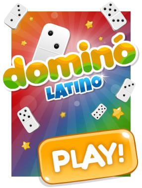 Latin Dominoes: Place your pieces linking the numbers and beat everybody! Do you dare?