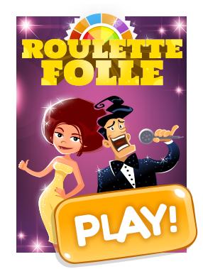 Roulette folle en ligne